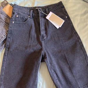 urban revivo denim mid length jeans